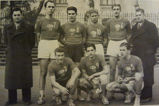 La squadra dei Cantieri Riuniti dell'Adriatico di Monfalcone del campionato di serie A 1941-42