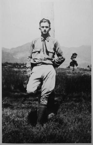 Louis Adamic con la divisa del US Army nel 1917